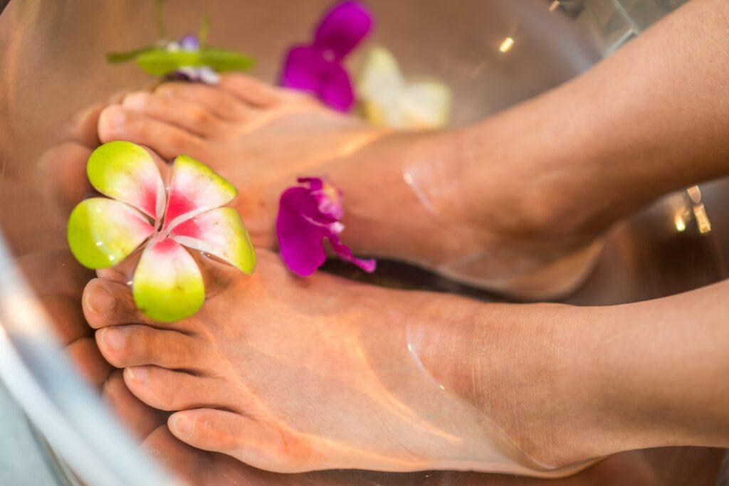 Forkæl dine hårdt arbejdende fødder